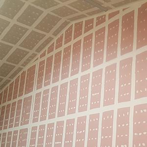 Plaque de plâtre plafitech