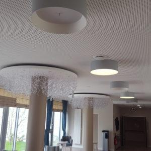 faux plafonds plafitech EHPAD Laval