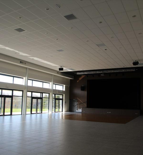 faux plafonds plafitech Salle Argentré
