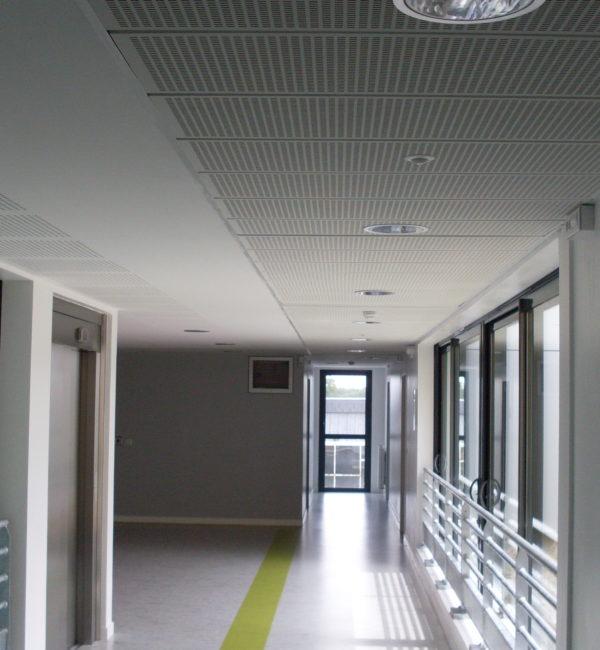 Pose de placo Lycée agricole laval